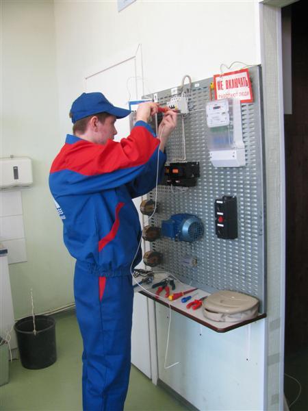 Тесты для конкурса по профессии электромонтер